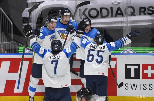 a7aef15e0bee0 Na snímke gólová radosť Fínov vo finálovom zápase Kanada - Fínsko na 83. majstrovstvách  sveta v ľadovom hokeji v Bratislave 26. mája 2019.